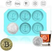 Bitcoin  Siliconen ijsblokjes/koekjes vorm