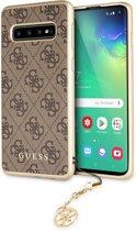 Samsung Galaxy S10 hoesje - Guess - Bruin