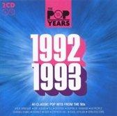 Pop Years 1992 - 1993