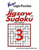 Brainy's Logic Puzzles Easy Jigsaw Sudoku #3