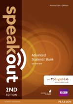 Speakout Advanced 2nd Edition Students' Book with DVD-ROM and MyEnglishLab Access Code Pack