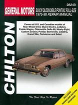 General Motors Full-Size Buick/Oldsmobile/Pontiac (75 - 90)
