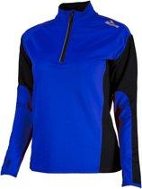 Rogelli Elka Longsleeve Dames  Sportshirt - Maat S  - Vrouwen - blauw/zwart