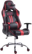 Clp Limit xl - Racing Bureaustoel - Kunstleer - - Zwart/rood - Zonder voetsteun