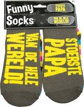 Sokken - Funny socks - Stoerste Papa van de wereld!