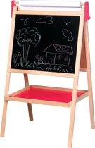 Lelin Toys Schoolbord - Magnetisch Whiteboard - Krijtbord - Ezel