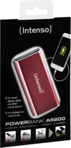 Intenso Powerbank ALU 5200 rot, accu: 5200mAh