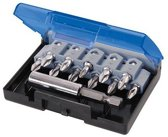 Silverline 12-delige antislip schroevendraaier bit set