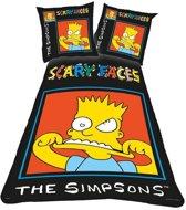 The Simpsons - Dekbedovertrek - Katoen - 1-persoons - 140x200 cm + 1 sloop - Multi