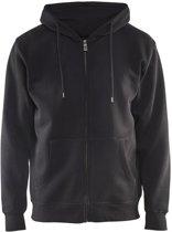 Blåkläder 3366-1048 Hooded Sweatshirt Zwart maat M