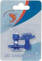 Superfish luchtslang kraan - aquarium - beluchting - 1 x 2 kranen