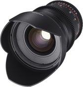 Samyang 24mm T1.5 VDSLR ED AS IF UMC II - Prime lens - geschikt voor Canon Spiegelreflex