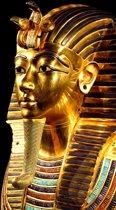 DP® Diamond Painting pakket volwassenen - Afbeelding: Egyptische Farao - 60 x 90 cm volledige bedekking, vierkante steentjes - 100% Nederlandse productie! - Cat.: Fantasy & Sprookjes