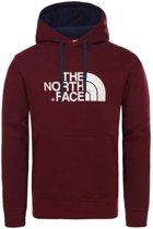 The North Face Drew Peak sweater heren bordeaux rood/beige