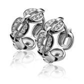 Zinzi - Zilveren oorringen - ZIO813