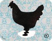 Kamagurka placemat Chicken Squirl