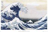 Great wave of Kanagawa Poster Hokusai Art Japans-61x91.5cm.