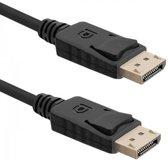 Qoltec 2m DisplayPort 2m DisplayPort DisplayPort Zwart
