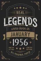 Real Legendes were born in Januar 1956