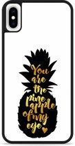 iPhone Xs Max Hardcase hoesje Big Pineapple