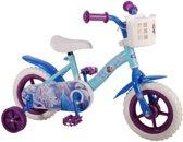 10 inch Disney Frozen kinderfiets blauw