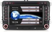 Rns 510 passend voor Volkswagen Autoradio - Navigatie - Bluetooth - Radio - CD/DVD – voor