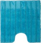 California - WC mat met antislip - Turquoise - 60 x 60 cm