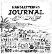 Boek Handlettering Journal doe je zo! + 5 stuks Pentel S520 Handlettering Pennen + 1 Handlettering/kalligrafeer Spiraal gebonden Boek met 70 Witte Vellen Papier.