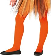 Oranje panty 15 denier voor meisjes