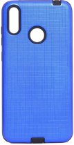 Teleplus Samsung Galaxy M20 Youyou Silicone Case Blue hoesje