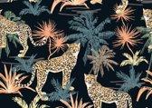 Vinyl Placemat | safari | 6 stuks (1 gratis)