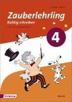 Zauberlehrling 4. Arbeitsheft. SAS Schulausgangsschrift. Bayern