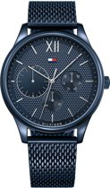 Tommy Hilfiger TH1791421 Watches - Staal - Blauw - 44 mm