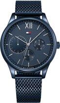 Tommy Hilfiger TH1791421 horloge - heren - blauw - edelstaal