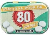 Paperdreams - Retro mints - 80 Jarige