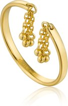 Ania Haie Ring AH R013-02G - Zilver Goldplated