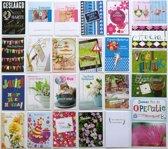 Verjaardagskaarten en Assortie Wenskaarten - Set van 20 + 6 EXTRA--L-091