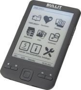 Bullit RHD430 - mini e-reader - 4.3inch - Zwart
