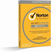 Norton Security Premium 2019 10 Apparaten | 1 jaar | Met 25GB Backup | Windows / Mac / iOS / Android | Download