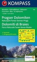 Kompass WK145  Pragser Dolomiten