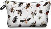 Zumprema Bugs - Make-up Etui - Wit