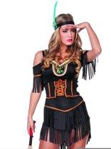 Sexy bruin indianen kostuum voor vrouwen - Verkleedkleding