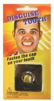 Ben Saunders Gouden pimp overschuif tand