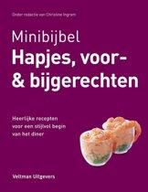 Boek cover Minibijbel - Hapjes, voor & bijgerechten van Christine Ingram