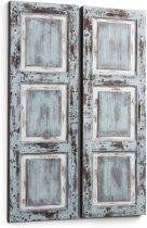 Kave Home Canvas doek Dou - 100x150cm