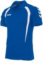 Hummel Team Polo KM - Shirts  - blauw kobalt - 116