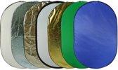 7in1 Reflectiescherm 90 cm X 120 cm / Opvouwbare Reflector