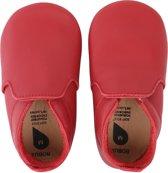 Bobux babyslofjes red loafer - maat 18