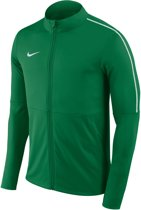 Nike Dry Park 18 Trainingsjas Heren  Trainingsjas - Maat M  - Mannen - groen/wit