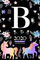 2020 Unicorn Diary Planner Never Stop Dreaming